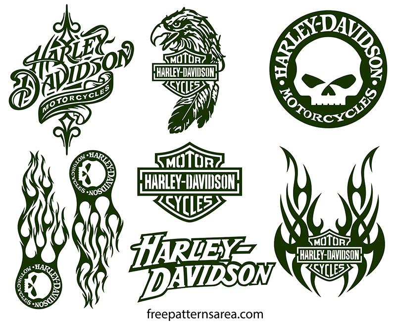 Harley Davidson Emblem SVG Free