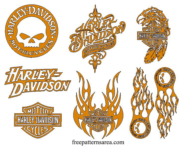 Harley Davidson Laser Cut