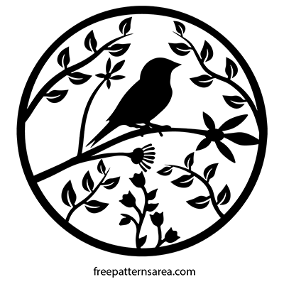 Bird Vector Free dxf Files Download