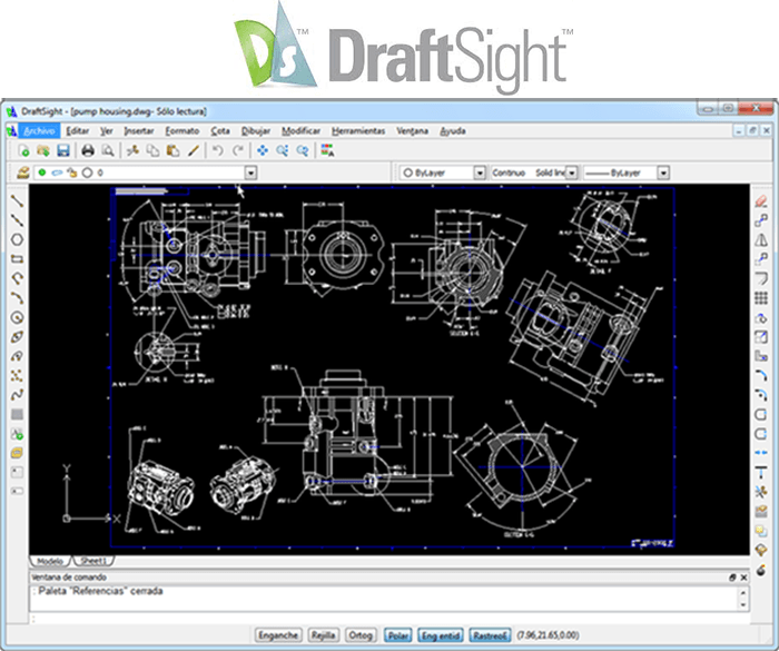 DraftSight Free 2D CAD Drawing Software