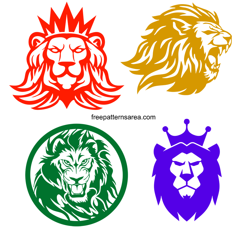 Free Lion Clipart Svg File