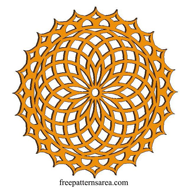 Mandala Templates for Laser Cutting