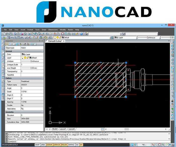NANOCAD Free 2D CAD Drawing Software