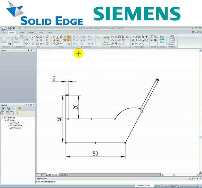 Solid Edge 2D Drafting Siemen Free Softwares