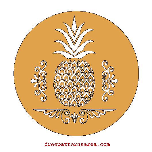 Free Pineapple Laser Cutting Files