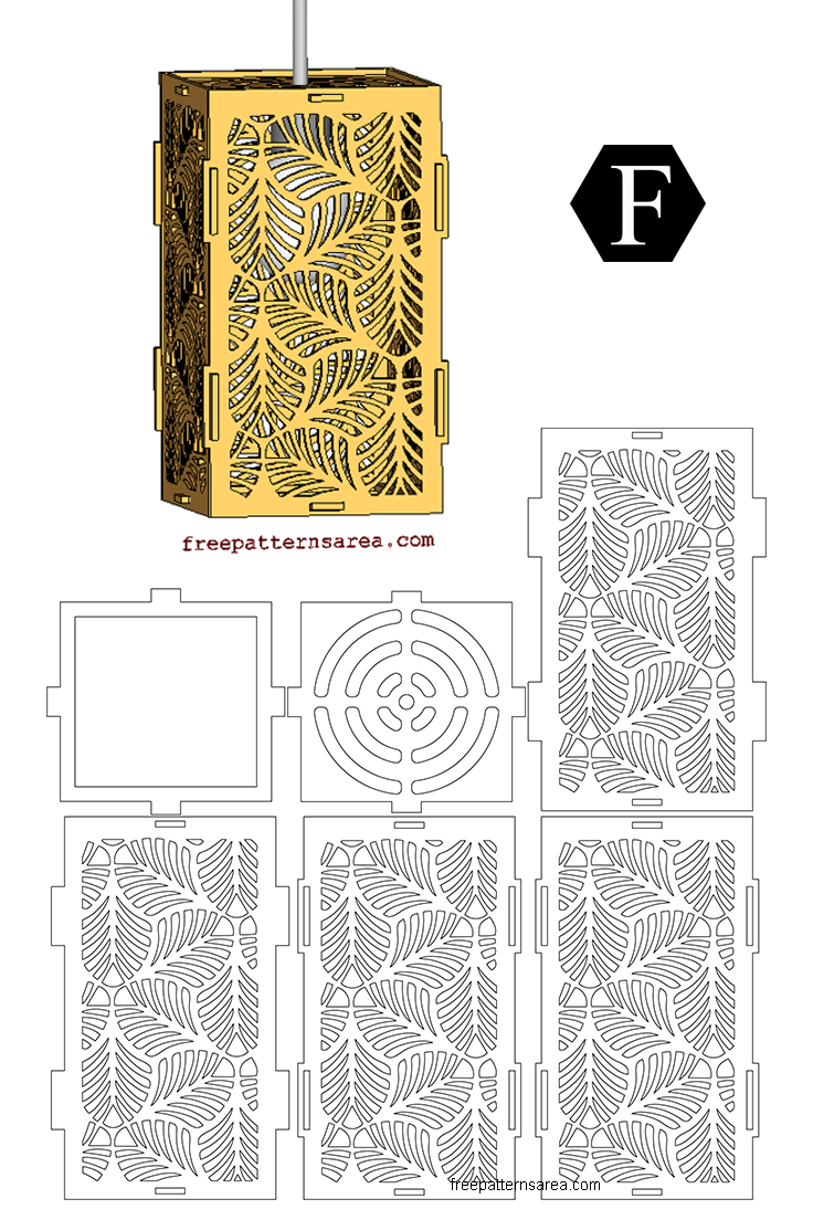 Laser Cut Wooden Pendant Light Shades Free Png Drawings