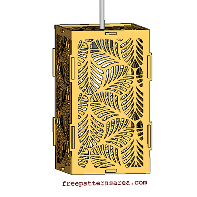 Laser Cut Free Download Wooden Pendant Light Shades