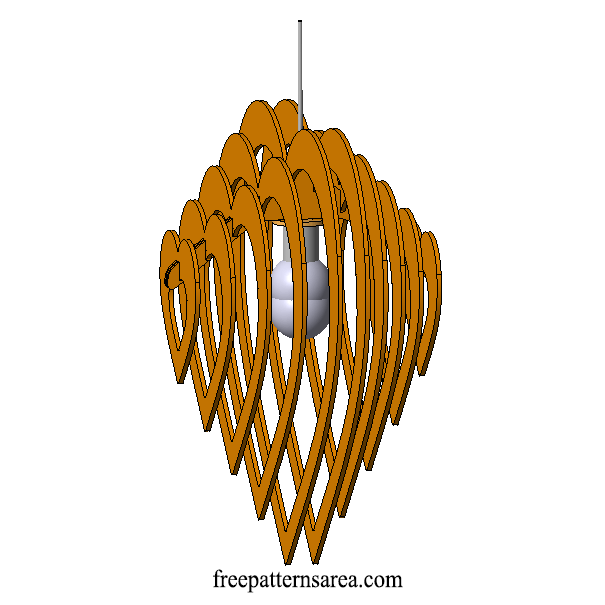 Chandelier Template 3d Laser Cutting Files 1 2