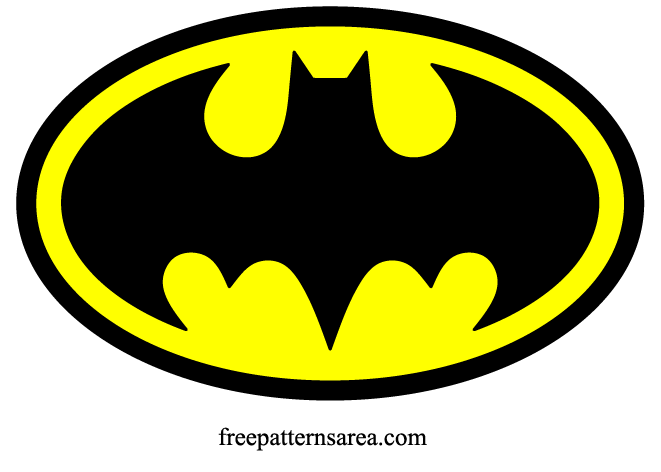 Batman Logo Symbol Sign Free Vector Clipart
