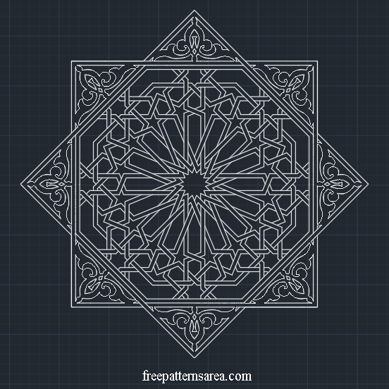 Geometric Islamic Ornament Art Vector Patterns