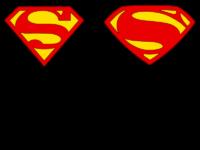 Superman Free Logo Vector Stencil Patterns