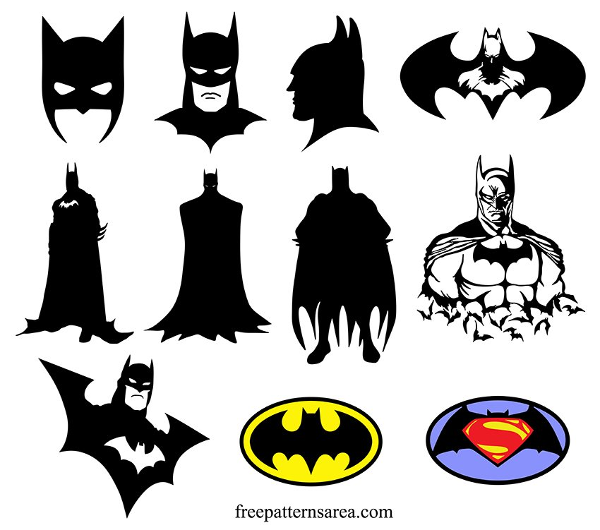 Free Batman Svg Cut File for Cricut