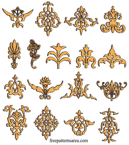 Cnc Laser Cut Wooden Ornaments Cut Engraved Design