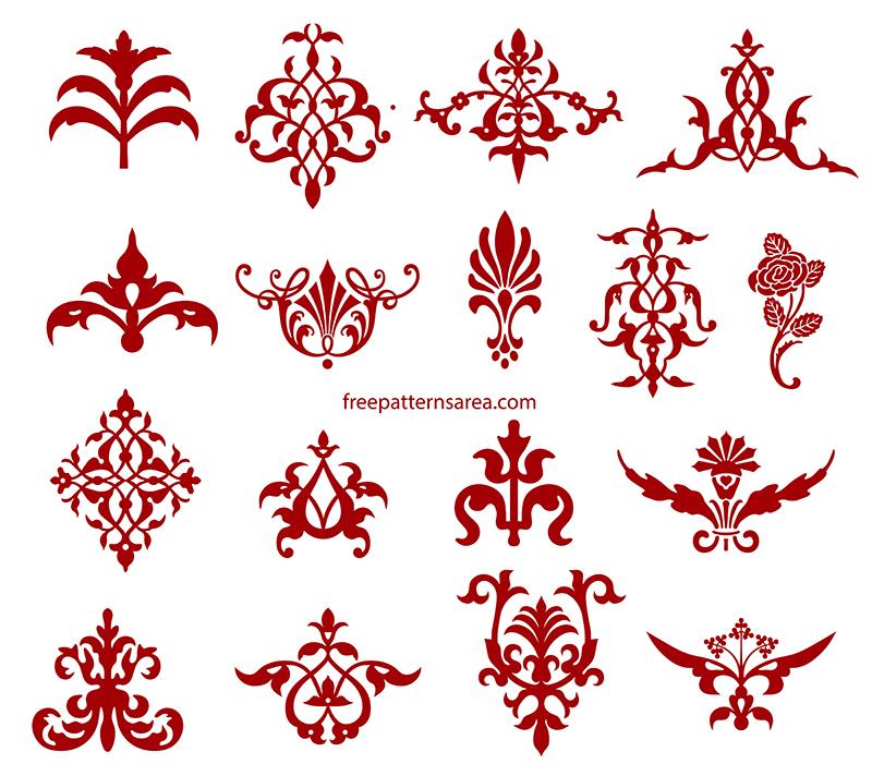 Vintage Decorative Element Svg Designs