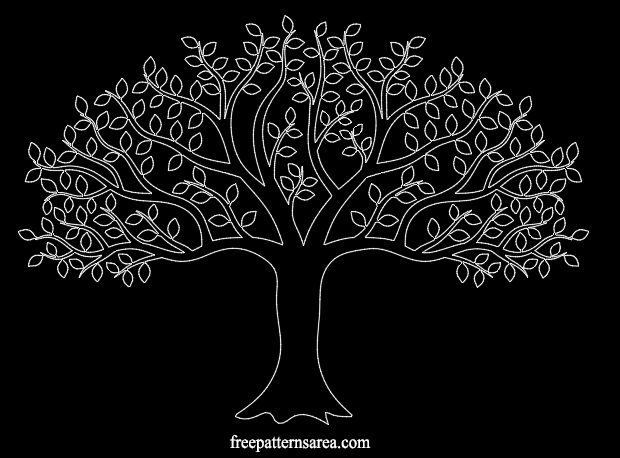 Autocad Art Tree Dwg Dxf Files
