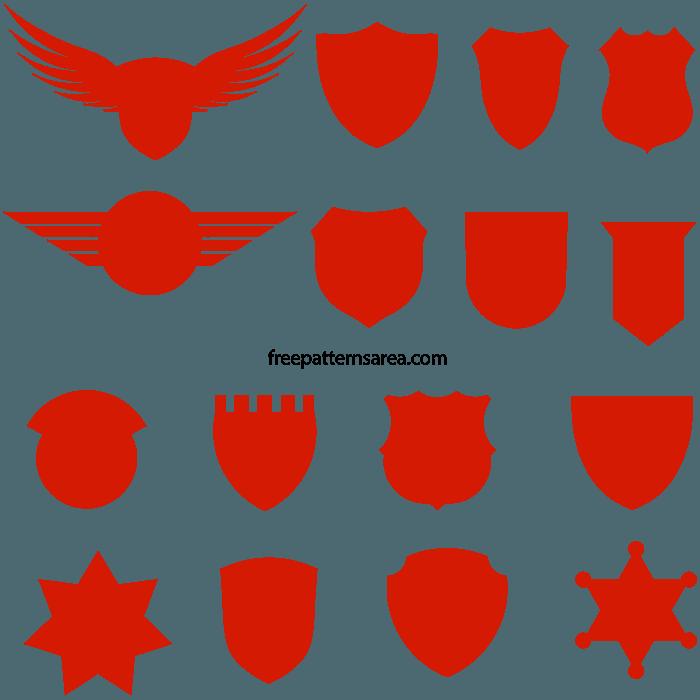 Badge Crest Free Svg