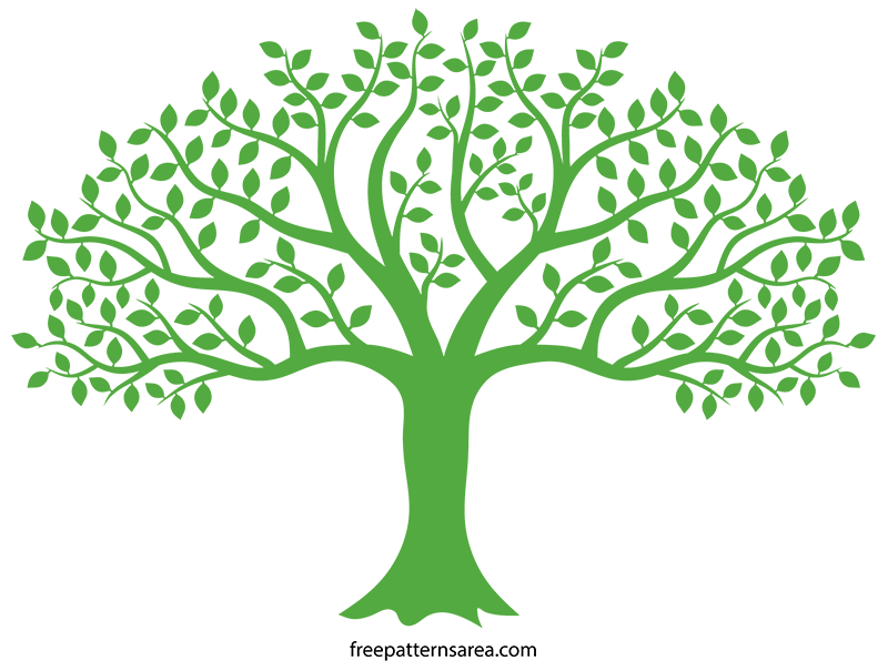 Tree Svg Image Cut File