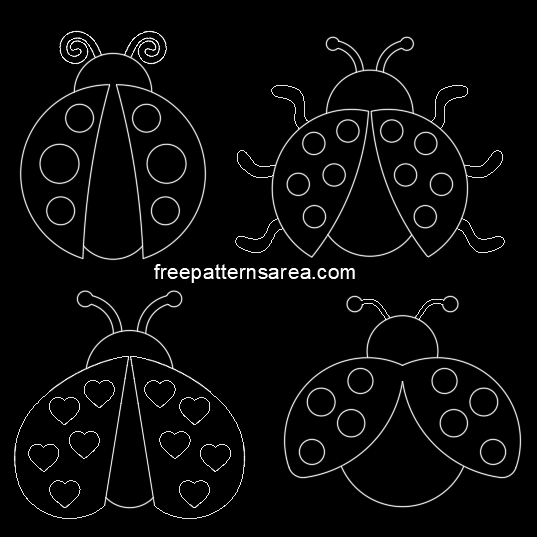 Ladybug Autocad Dwg Dxf Files