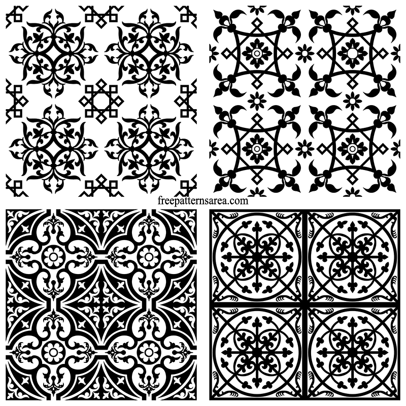 Ornamental Tile Design Patterns
