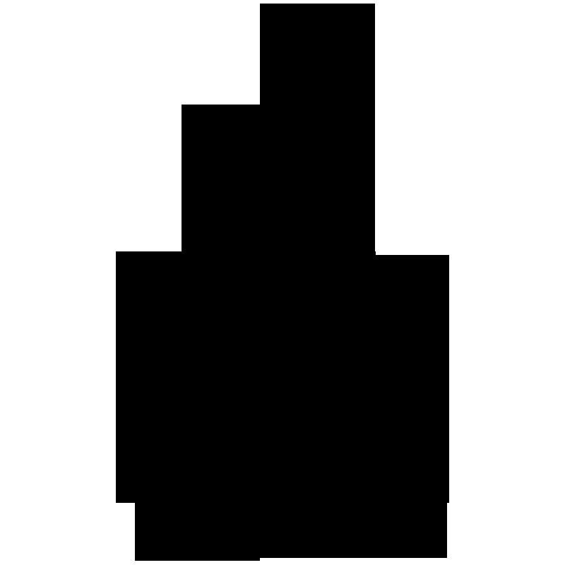 Christmas Xmas Tree Silhouette Vector Art Free