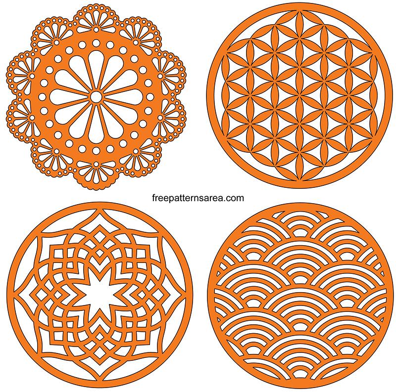 Drink Coaster Designs Free Svg Files For Cricut