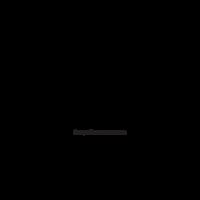 Tulip Flower Stencil Vector Clipart