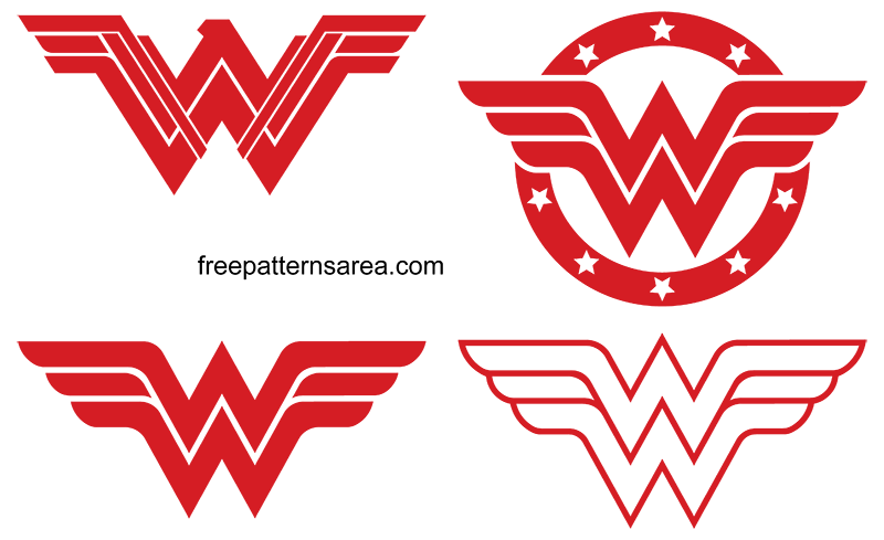 Wonder Woman Silhouette Cricut Svg
