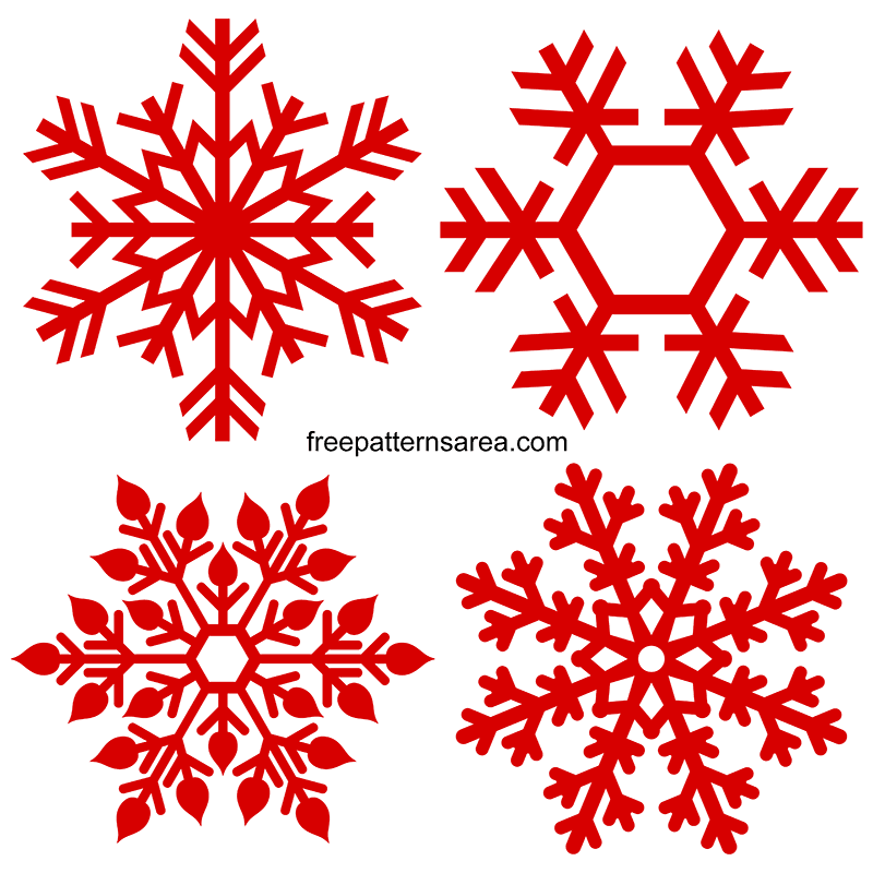 Snowflake Silhouette Svg Images