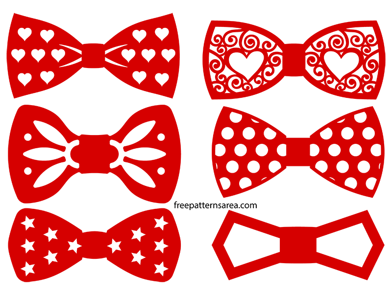 Bow Tie Clipart Svg Cutable Designs