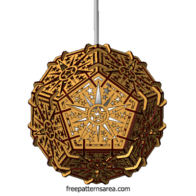 Creative Ceiling Lamp Laser Cut Product Ideas