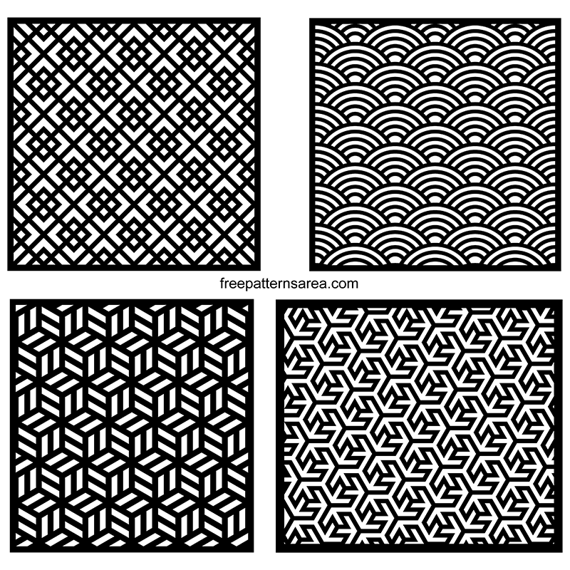 Geometric Seamless Vector Patterns