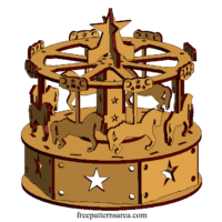 Carousel Laser Cut Toy Project İdeas