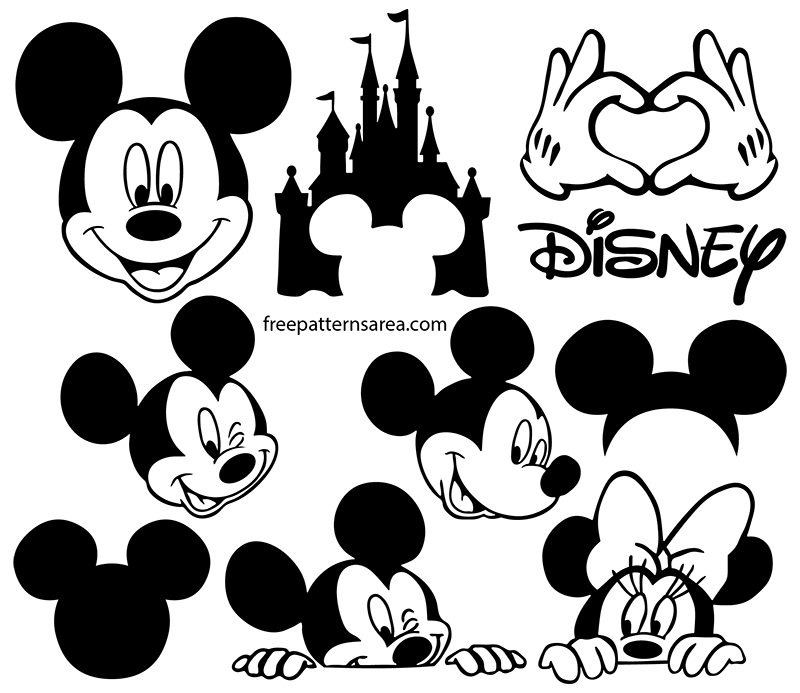 Disney Mickey Mouse Logo Vector İmages