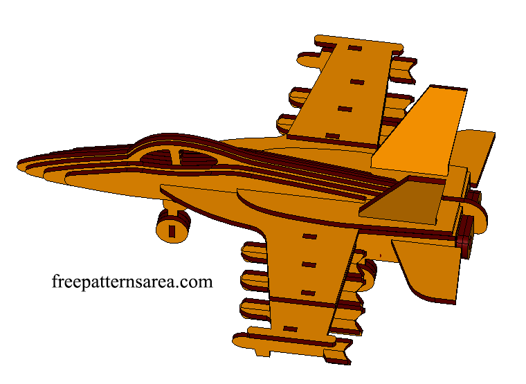 Airplane Laser Cutting Project