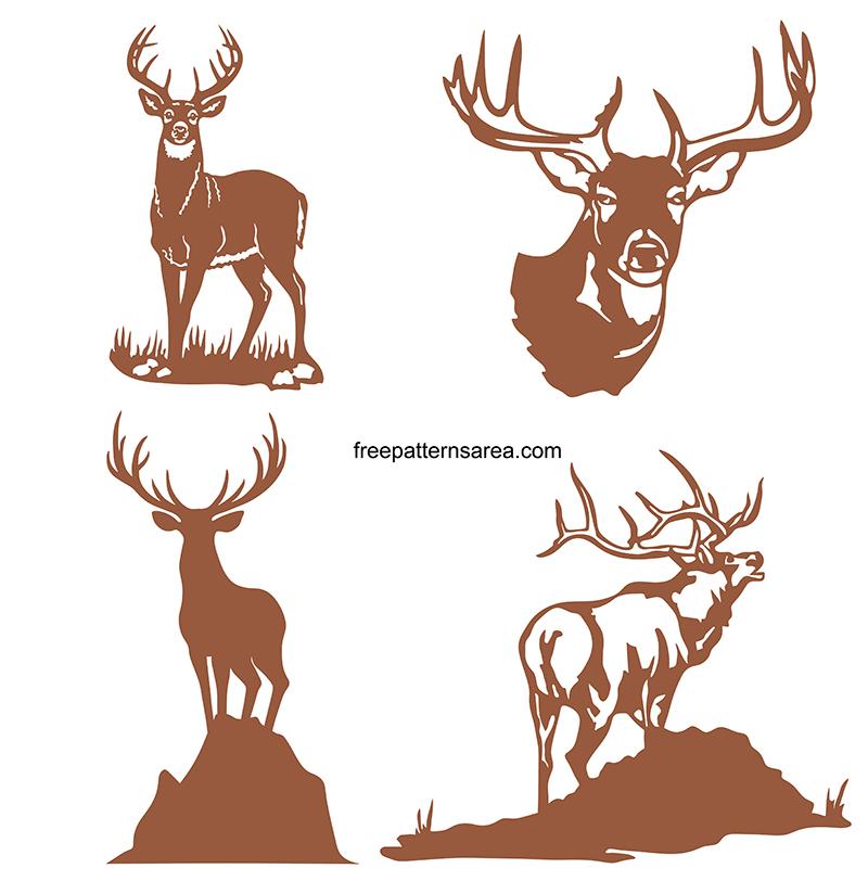 Deer Silhouette Free Svg Image Designs