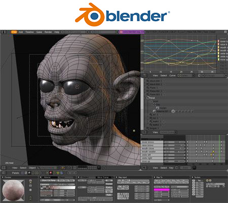 Blender Modeling Software