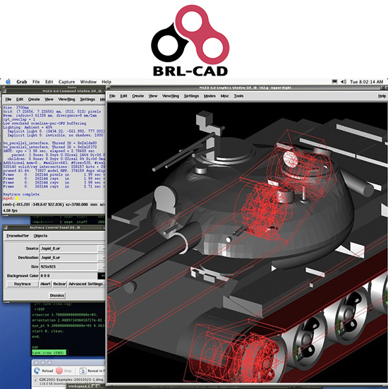 Brl Cad Open Source 3d Cad