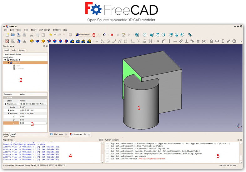 Freecad Cad Software Programs
