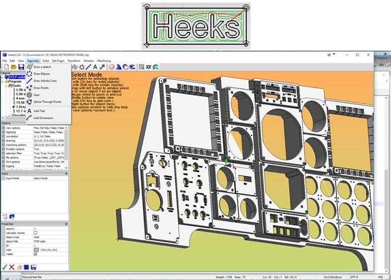 Heekscad 3d Cad Design Software