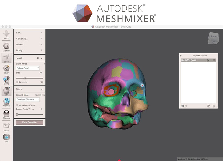 Meshmixer Autodesk 3d Printing Software