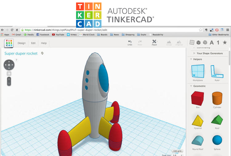 Tinkercad Free Cad Online