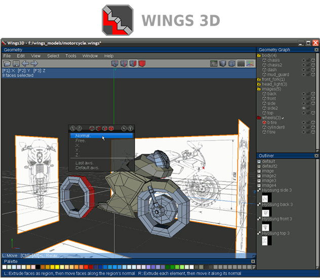 Wings3d 3d Modeling Software