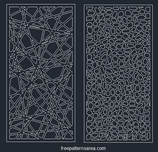 laser cut metal screen design patterns