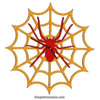 Laser Cut Spiders Web Clock Idea