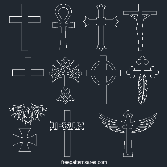 Cross Dwg Autocad Design File