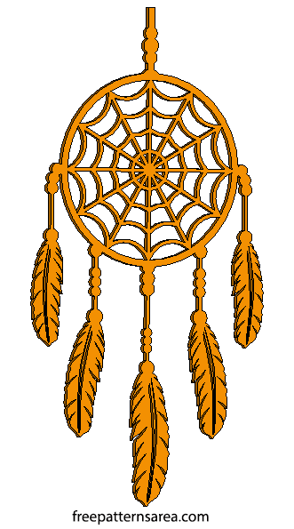 Dreamcatcher Wood Laser Cut Designs