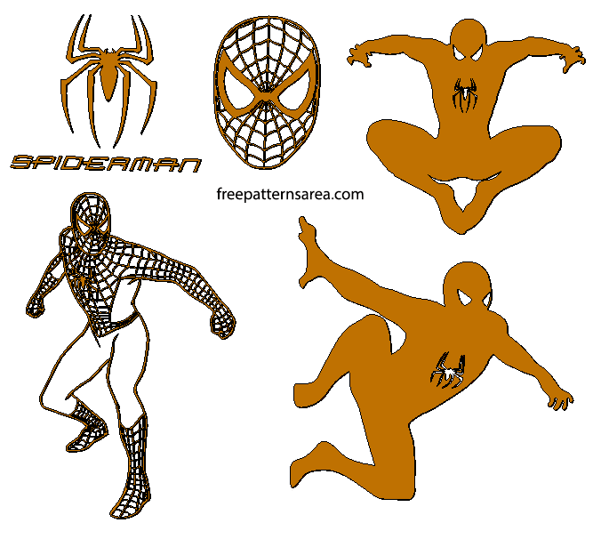Spider Man Metal Cnc Palsma Laser Cut Files