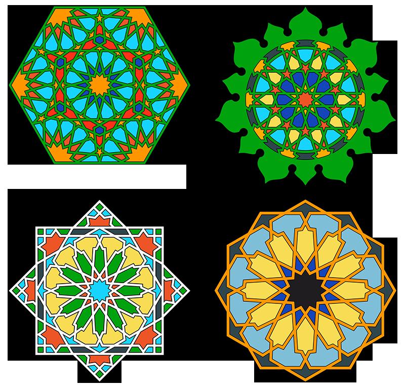 Islamic Art Geometric Design Graphics Vectors Hd