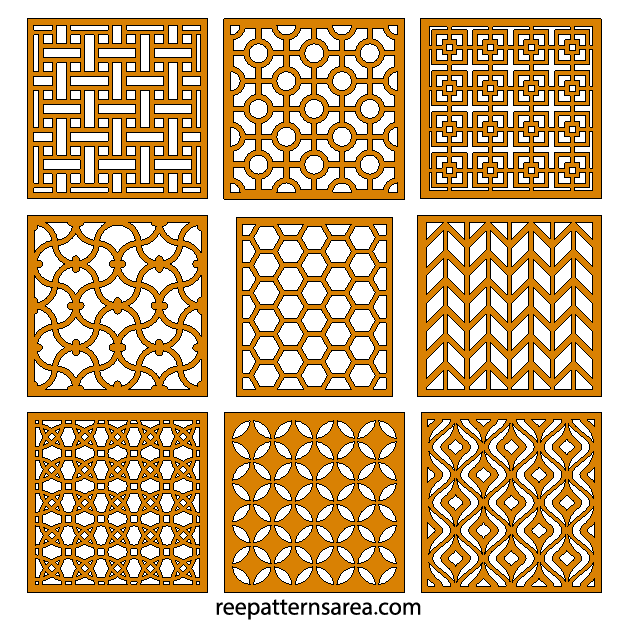 Laser Cut Cnc Pattern Designs