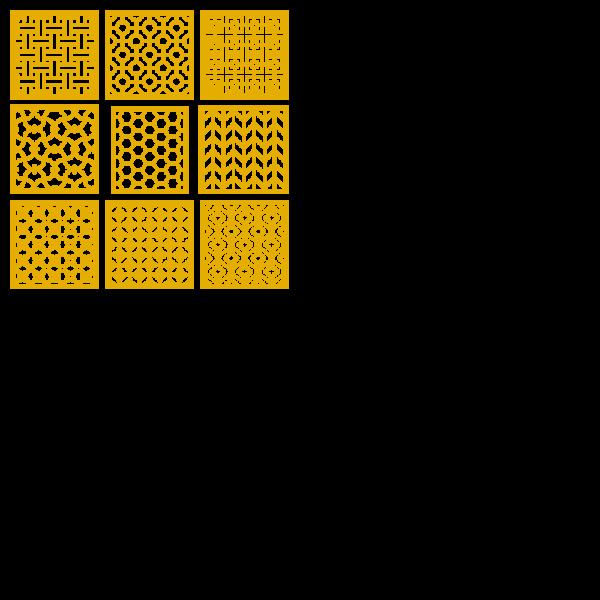 Repeating Seamless Geometric Pattern Design Vectors